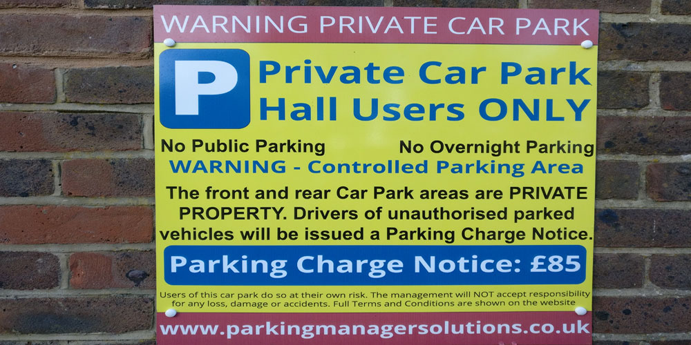 Car Park Signs from AFab Signs in Portsmouth